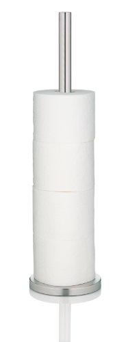 Kela 22828, Toilettenpapierhalter für 3 Rollen, Edelstahl, Carta, 57cm, Silber Matt