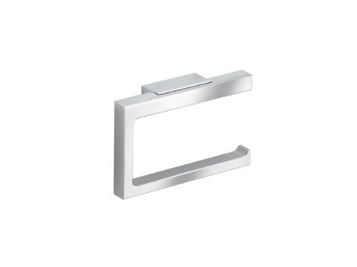 Keuco Toilettenpapierhalter Edition 11 (offene Form, Rollenbreite bis 120 mm, modernes Design, verchromt) 11162010000