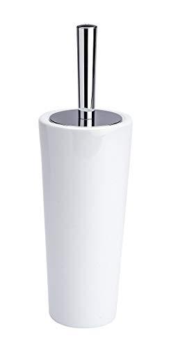 Wenko 21687100 Keramik WC-Garnitur Coni, 11,5 x 37 x 11,5 cm, weiß