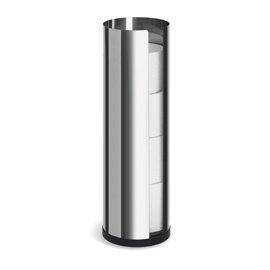 Blomus NEXIO WC-Rollenhalter für 4 Rollen, poliert Edeslstahl