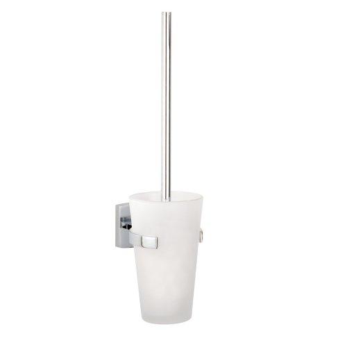 Nie Wieder Bohren klaam Toilettenpapierhalter, Wandmontage, inkl. Klebelösung, garantiert rostfrei, 390mm x 94mm x 135mm