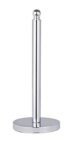 WENKO 16878100 Viterbo Toilettenpapier Ersatzrollenhalter, für 3 Toilettenpapierrollen, Edelstahl rostfrei, 14 x 35 x 14 cm, glänzend