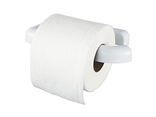 Haceka 1137994 Yoly Toilettenpapierhalter ohne Deckel, Duroplast-Kunststoff, Weiß