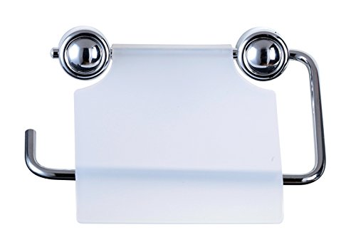 WC-Papierhalter transparent Klopapierhalter Klopapier Toilettenpapierhalter