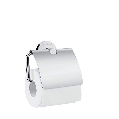 hansgrohe Logis Universal Toilettenpapierhalter (Badzubehör mit Abdeckung) Chrom
