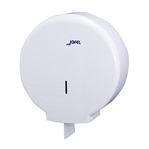 Toilettenpapierhalter Großrollen Jofel ae55300azur groß Toilettenpapierhalter, 400m, 55mm Core, Weiß