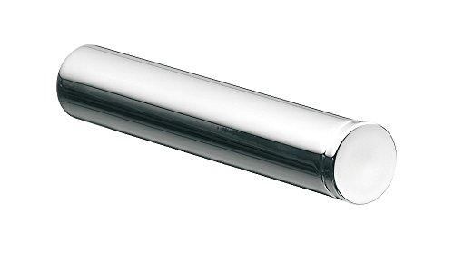 Emco Rondo 2 Reserve-Toilettenpapierhalter, chrom, für 1 Rolle, Klopapierhalter, Rollenhalter, Wandmontage - 450500100