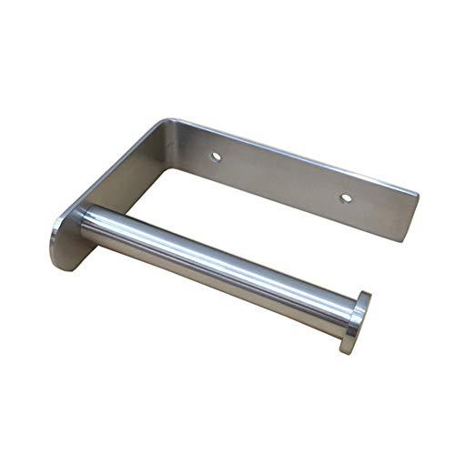 Homovater 304 Edelstahl Klopapierhalter Matt Toilettenpapierhalter Wandhalter für Badzimmer WC Papierhalter