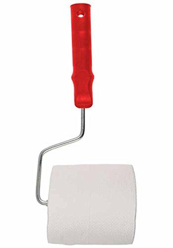 Toilettenpapier-Halter Malerrolle rot