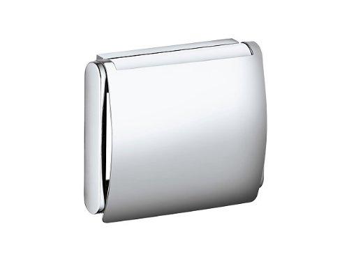 Keuco 14960010000 Plan Toilettenpapierhalter mit Deckel chrom