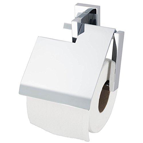 HACEKA Edge Papierrollenhalter mit Blende, verchromt, 1143811