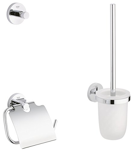 GROHE Essentials | Badaccessoires - WC-Set 3-in-1 | 40407001
