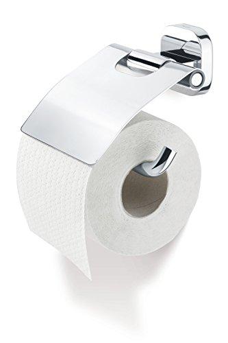 Tiger Ramos Toilettenpapierhalter mit Deckel, chrom