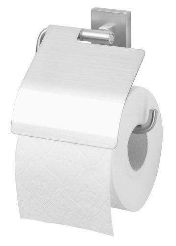 Tiger Melbourne Toilettenpapierhalter mit Deckel, Edelstahl gebürstet