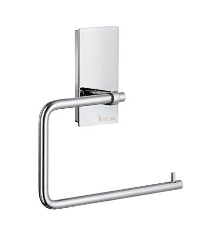 Smedbo Pool Toilettenpapierhalter ohne Deckel, silber