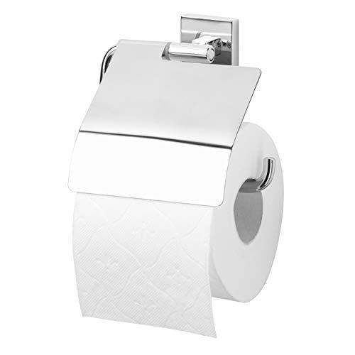 Tiger Melbourne Toilettenpapierhalter mit Deckel, Messing verchromt