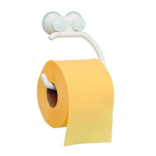 WC-Papierhalter Kunststoff weiß Klopapierhalter Klopapier Toilettenpapierhalter