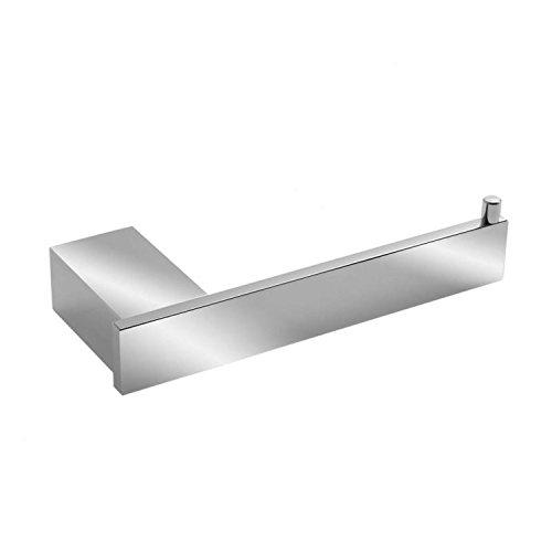 Sanixa TA62104 Hochwertige Toilettenpapier-Halter Serie Oslo Aluminium ROSTFREI | Badaccessoires | WC Klorollenhalter Gäste WC | Bad-Zubehör