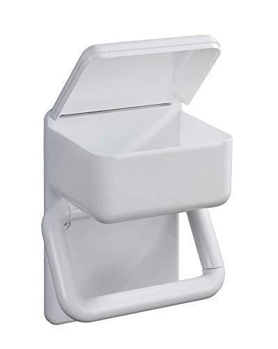 Toilettenpapierhalter für Feuchttücher & WC-Rollenhalter mit Feuchtbox