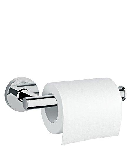 hansgrohe Logis Universal Toilettenpapierhalter (Badzubehör, ohne Abdeckun) Chrom