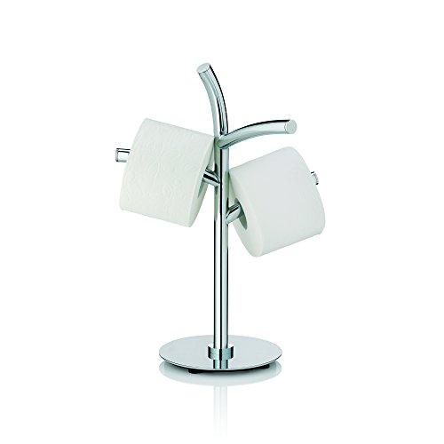 Kela 22870, Toilettenpapierhalter, 3 Rollen, Metall, Saltus, 49cm, Verchromt