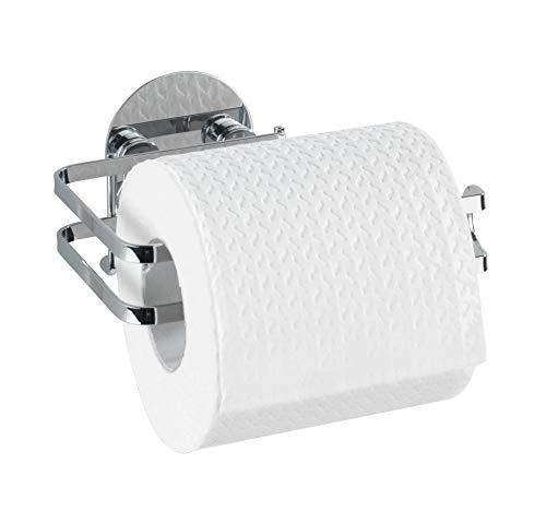 Wenko Toilettenpapierhalter, Edelstahl, Silber, 11 x 13.5 x 7 cm