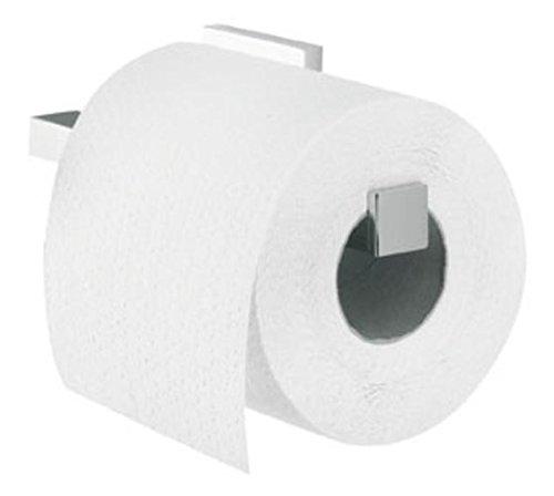Tiger Items Toilettenpapierhalter ohne Deckel Edelstahl gebürstet 170 x 50 x 87 mm