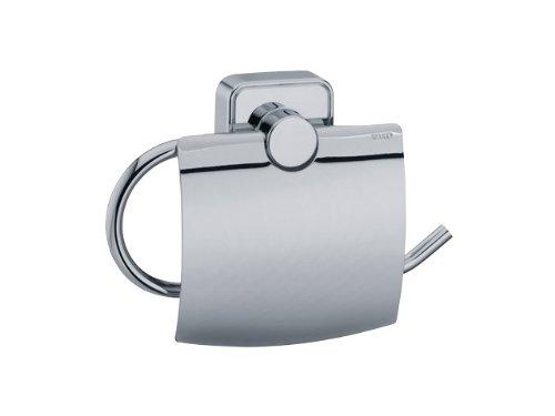 Keuco 02360010000 Smart Toilettenpapierhalter mit Deckel chrom