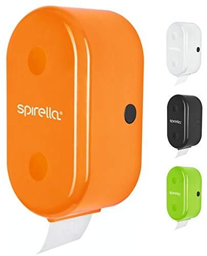 Spirella Cube ORANGE Rollenhalter Badaccessoires, ABS, 30 x 15 x 13 cm