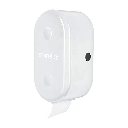 Spirella Cube White Rollenhalter Badaccessoires, ABS, 30 x 15 x 13 cm