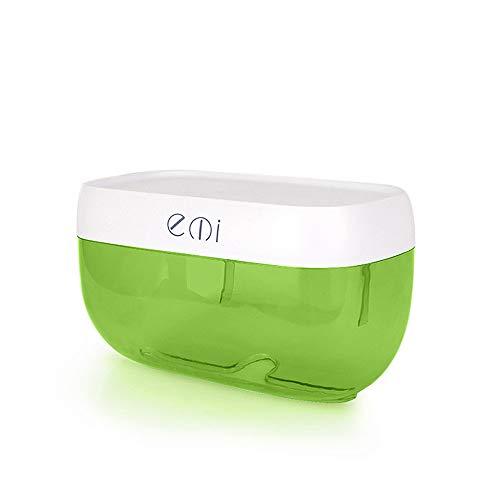 SLHP Feuchtpapierbox Multifunktion Badezimmer Toilettenpapier Wandhalterung Toilettenpapierhalter Kunststoff Wasserdicht WC Badaccessoires (Grün)
