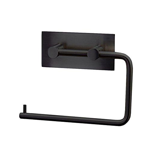 Schwarz WC Garnituren & Toilettenpapierhalter in schwarz ...