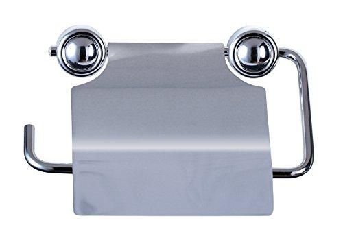 WC-Papierhalter Edelstahl Klopapierhalter Klopapier Toilettenpapierhalter