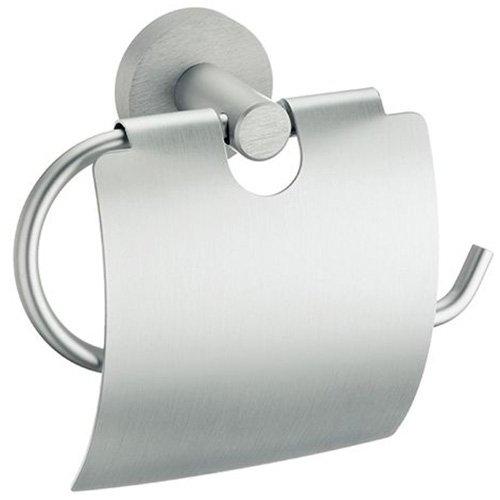 "kela ""Abramo Toilettenpapierhalter, aus Aluminium, Silberfarben"