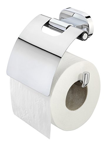 Tiger Lucca Toilettenpapierhalter mit Deckel, chrom