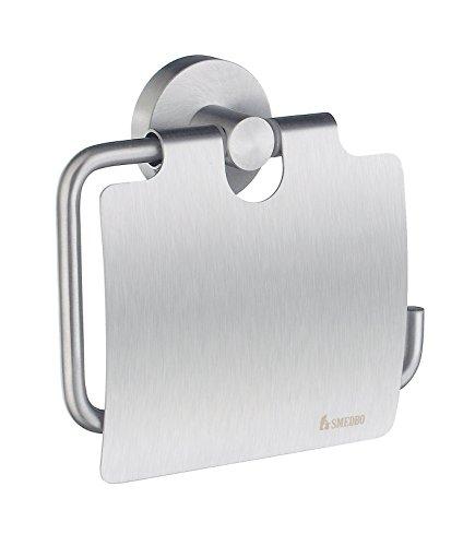Smedbo Home Toilettenpapierhalter mit Deckel Art.HS3414