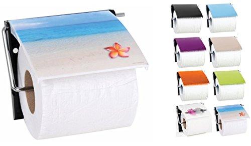 "MSV Bad Serie""Paradise"" Toilettenpapierhalter WC Rollenhalter Papierhalter Klopapierhalter"
