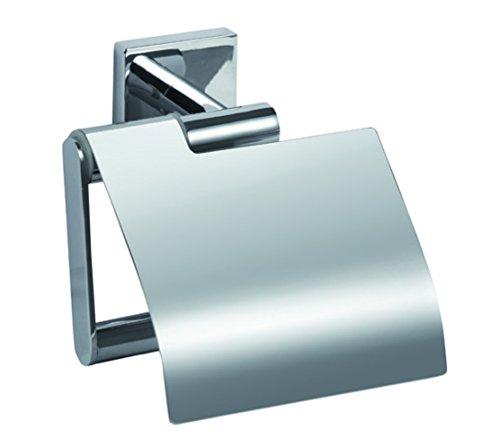 Aqualy Toilettenpapierhalter mit Deckel chrom