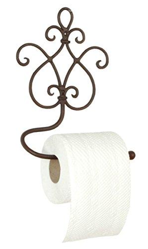 Clayre & Eef, Toilettenpapierhalter aus Eisen im Landhausstil