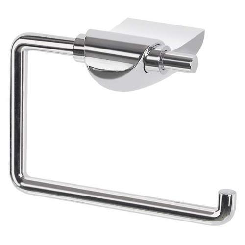 Spirella WC Rollenhalter Darwin Edelstahl Toilettenpapierhalter Klopapierhalter zum kleben oder Bohren