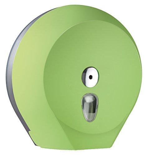 Design Toilettenpapierspender für Großrolle Ø 29 cm - Abschließbar - Grün