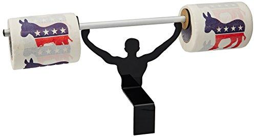 Fairly Odd Novelties Demokraten WC-Papier mit starker Mann Halterung