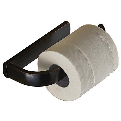 Weare Home Hochwertig Retro Bad und Toilett Klopapierhalter, Klorollenhalter, Toilettenpapierhalter, Schwarz Bronze befestigung Wandhalter