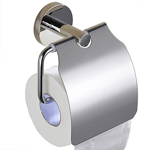 ZUNTO Toilettenpapierhalter Edelstahl Wandmontage, Chrom