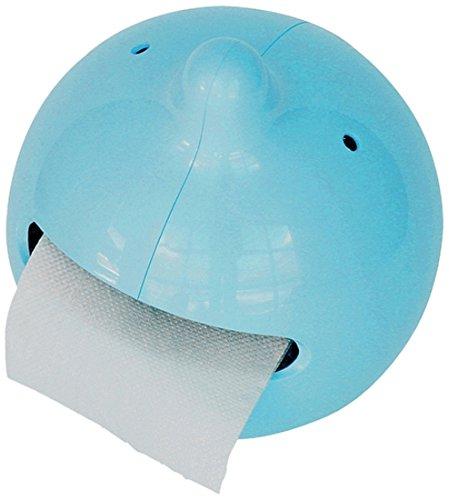 Propaganda Toilettenpapierhalter Mr. P The Wiper blau