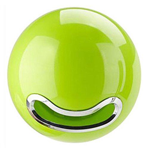 Teckpeak Papier Rollenhalter Kosmetiktücherbox Toilettenpapierhalter, Bowl - Grün