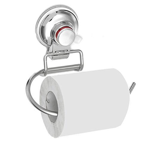 MAKA Toilettenpapierhalter Saugnapf Toilettenpapierhalterung ohne bohren Klorollenhalter Klopapierhalter Edelstahl Klopapierrollenhalter Toiletten Papier rollenhalter Papierrollenhalter