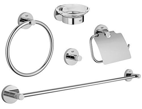 Grohe Essentials Bad-Set 5-in-1, chrom, 40344001