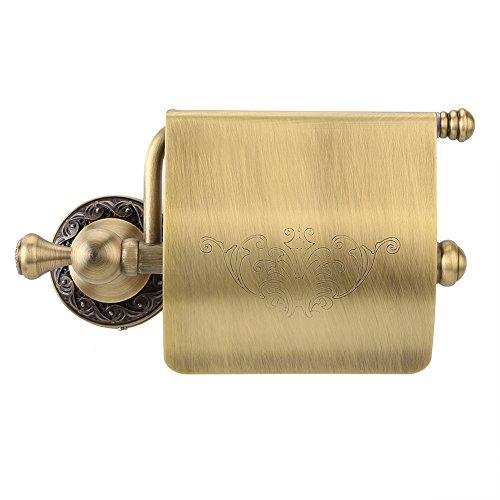 Fdit Toilettenpapierrollenhalter Toilettenpapierhalter Europäisch Geschnitzte Bronze Toilettenpapier Handtuch Europäischen Retro Toilettenpapierhalter