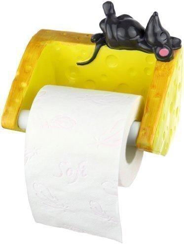 Der Toilettenpapierhalter - Maus mit Käse